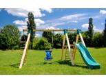 Детский деревянный игровой комплекс -MD_010