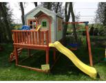 Деревянный детский игровой комплекс -MD_015