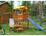 Деревянный детский игровой комплекс -MD_001